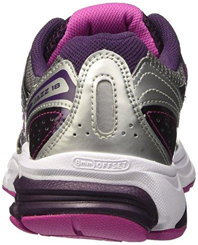 fucspa silver Multicolor Running De 18 W' Jazz purple Competición Zapatillas Mujer Saucony ZP6fqf