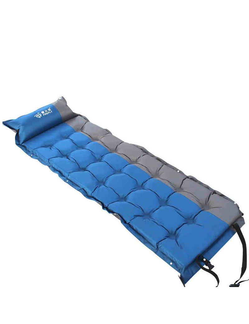 Kann genäht werden Hohe Rebound Automatisches aufblasbares Pad draussen Zelt Schlafmatten FeuchtigkeitsBesteändiges Pad Person Camping Luftkissen 195  65  5cm
