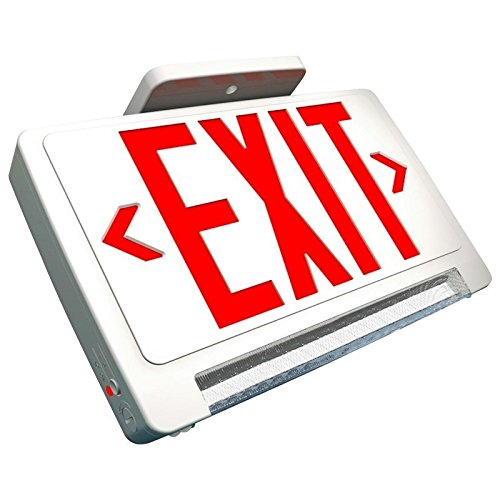 Super Bright Red Exit Sign Combo with LED Pipe