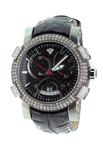 Aqua Master Titanium Automatic 3.50 ct Diamond Mens Watch W312A2 by Aqua Master