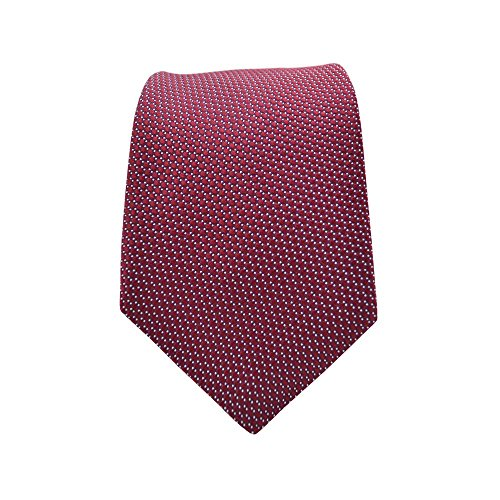 Ted Baker Neckties (Ted Baker Solid Silk Tie in Red (One Size, Red))