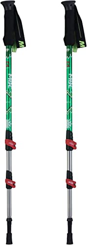 HealthPro MBC-M361Q Professional Weather-Resistant Duralumin Aluminum Trekking Pole Walking Stick Pair