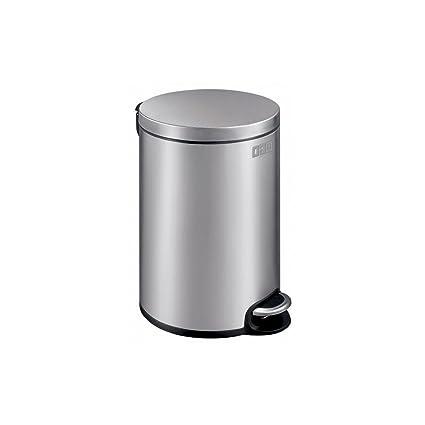OGO LIVING 7910109 - Cubo de basura (acero inoxidable mate, 20 L)