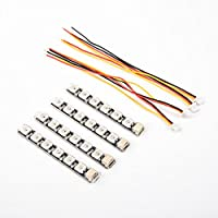 iFlight 4pcs Programmable RGB LED Lights 6 Lamps Board PCB for FPV Racing Drone Quadcopter (Single Line)