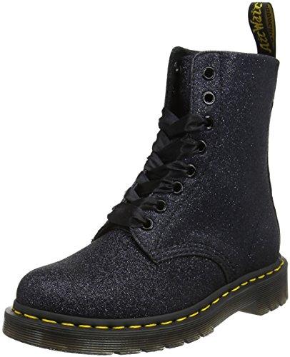 Dr. Martens Women's Pascal GLTR Ankle Boots Blue (Blue/ Black Glitter 418) q6fRbW