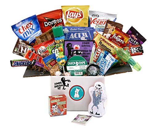 Zombie Survival Kit - Celebrate Halloween or the Walking - Snacks Halloween Themed