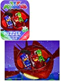 "PJ Masks Party Favors Owlette, Gekko, And Catboy 24-Piece Puzzle In Tin Case, 5"" x 7"", For Children Ages 6 and Up- Pack of 4"