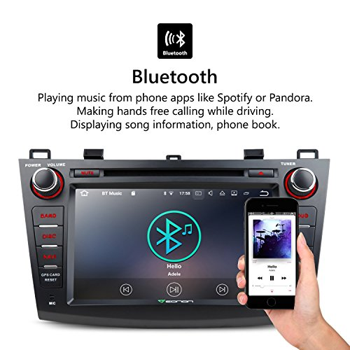 Eonon Ga8163 Android 7.1 Nougat 7 Inch Car Stereo In Dash Gps Radio on