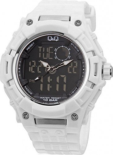 Q&Q Regular Analog-Digital Black Dial Men's Watch - GW80J002Y -