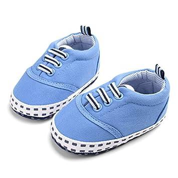 b232f260f79df Infant Boys Girls Shoes Canvas Solid Kids Shoes ... - Amazon.com
