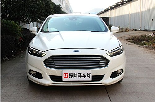 GOWE Car Styling For Ford Mondeo 2013-2015 LED Headlight for Fusion Head Lamp LED Daytime Running Light LED DRL Bi-Xenon HID Color Temperature:8000k;Wattage:55w 0