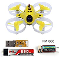 QWinOut Tiny6 PNP Mini Pocket Racing Drone Quadcopter 800TVL Camera With FUTABA FASST FM800 Receiver (Basic Version)
