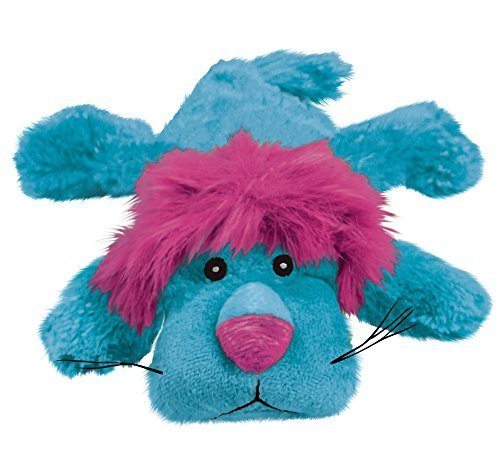 KONG Cozie Dog Squeaky Toy Size:Pack of 2 Type:King the Lion