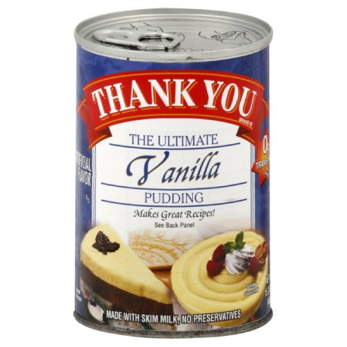 Thank You Pudding Vanilla Pudding 1575Ounce Pack of 6