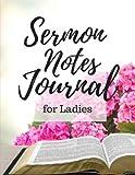 Sermon Notes Journal for Ladies