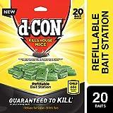 d-Con Corner Fit Mouse Poison Bait Station with 1