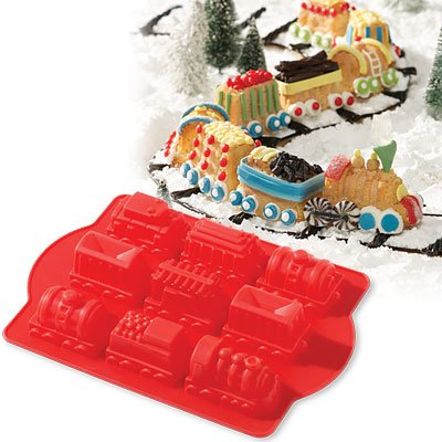 Silicone Train Cake Mold