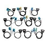 Full Set Cables for Digiprog III Digiprog 3 Odometer Programmer New