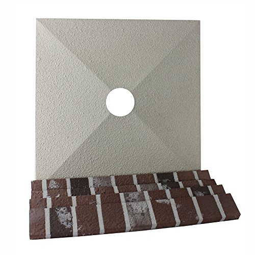 R-CO PRODUCTS Rectangle Chimney Surround Cap and Trim - Chimney Rco