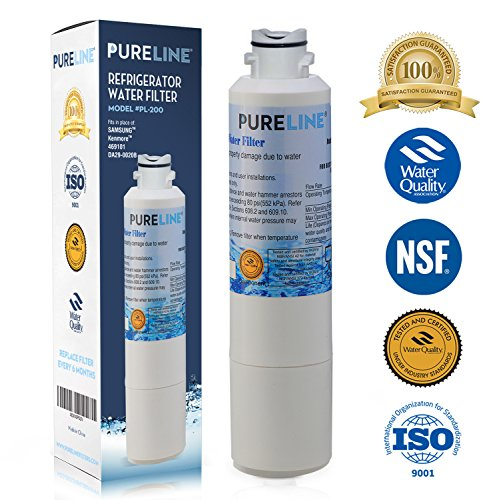 Pure Line Samsung DA29-00020B Compatible Water Filter - Refrigerator Also fits DA29-00020A,HAF-CIN EXP (1 Pack)