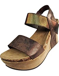 Pierre Dumas Women's Hester-1 Wedge Sandals