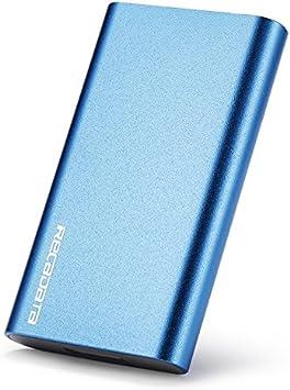 iRecadata Mini SSD Disco Duro Externo, 256G SSD mSATA, Disco ...