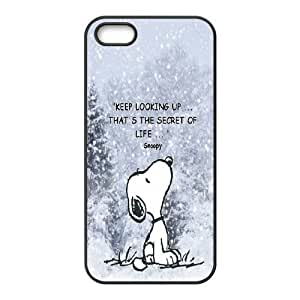 Custom High Quality WUCHAOGUI Phone case Cute & Lovely Snoopy Protective Case For Apple Iphone 5 5S Cases - Case-15