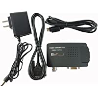 RioRand Video Converters Cctv Camera Bnc S-Video Vga To Laptop Computer Pc Monitor Converter Adapter Box