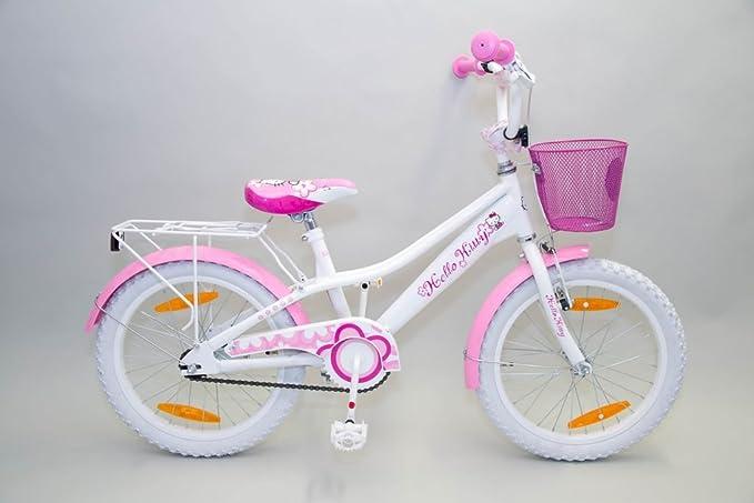 Hello Kitty 18 Zoll SHINY - Bicicleta infantil (18
