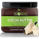 Manteca De Cacao Organico Sin Refinar - Para Las Manchas De La Piel, Estrias,