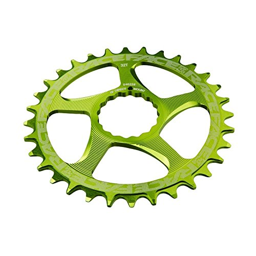 RaceFace Narrow Wide Cinch Direct Mount Chainring Green, 32T by RaceFace