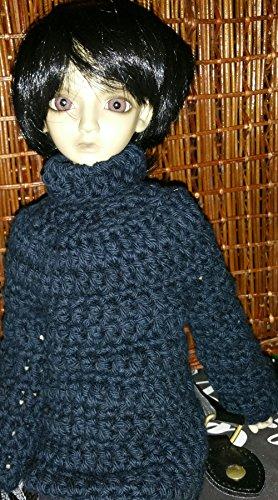 Amazon Msd 14 Bjd Doll Sweater Crochet Pattern Boy