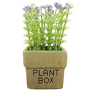 Evoio Artificial Flowers Plants Pot Millet Grains Gypsophila Paniculata Bonsai Home Decor Wedding Garden Patio Decoration 6