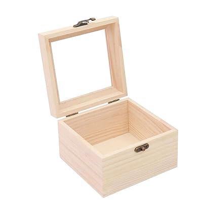 1*Cajas de Regalo Rectangulares Elegantes para Presentación de Joyería Caja de Almacenamiento