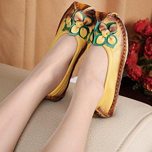 Mujer jaune tobillo de Style7 MatchLife Tira Xgq46qct