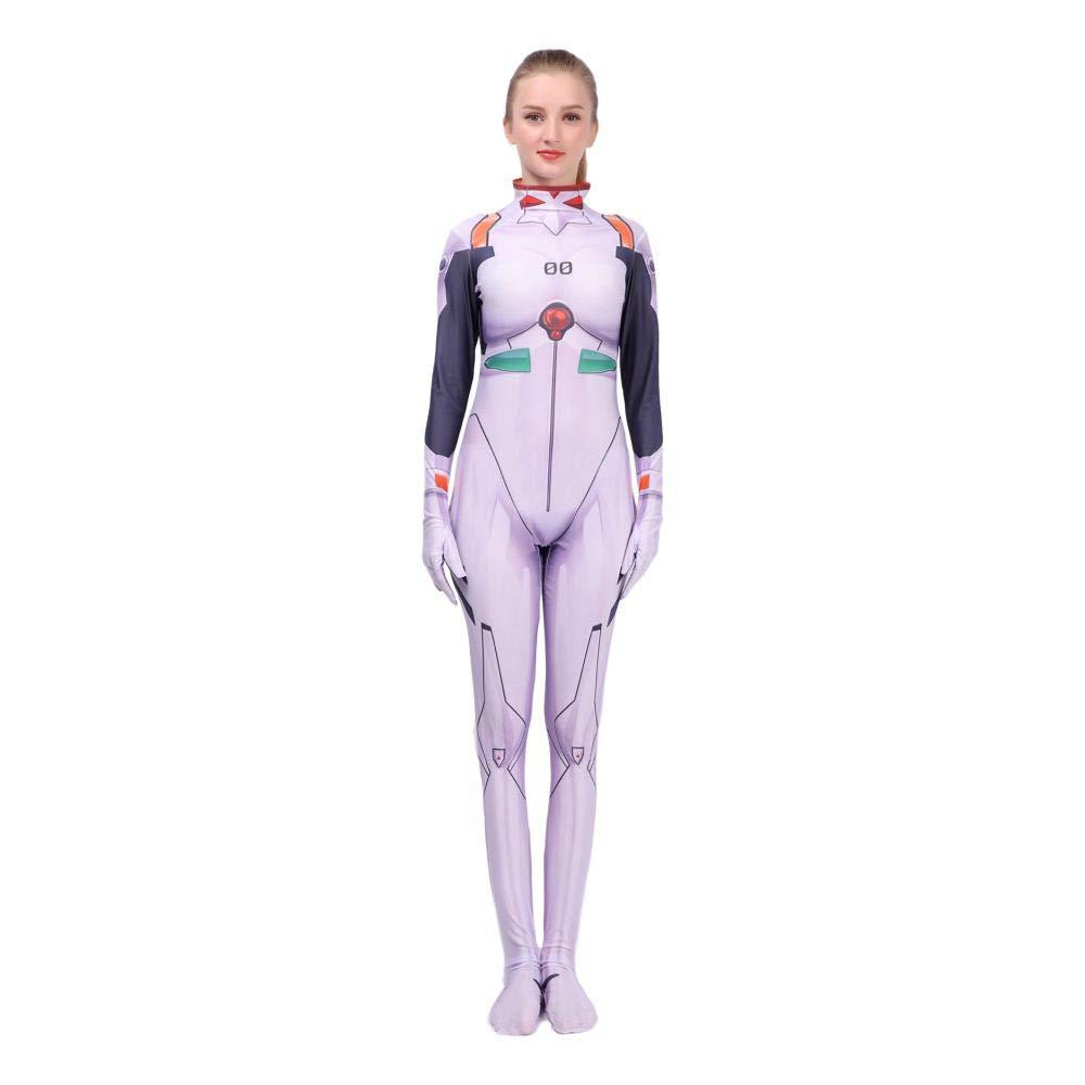 Cosplay Ropa The Ayanami Rei Anime Costume Evangelion EVA ...