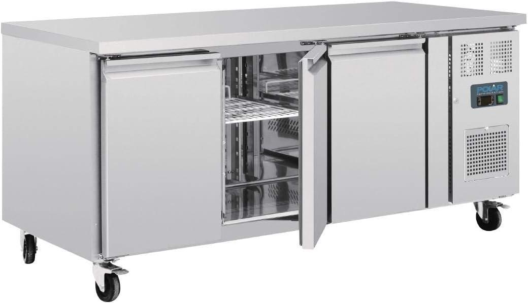 Mostrador frigorífico Polar 3 puertas Euronorm: Amazon.es: Hogar