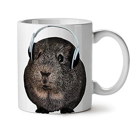 Guinea Pig Music Pet Animal Fur White Tea Coffee Ceramic Mug 11 oz | Wellcoda - Clean Guinea Pigs Gabbia