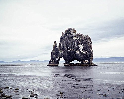 Iceland Photography Hvítserkur Rock Formation Travel decor 8x10 inch Print
