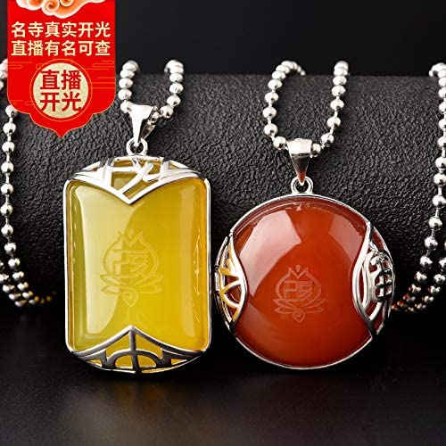 Kaiguang Sanhe Noble Chinese Zodiac Pendants Chinese Zodiac Belongs to The Year of Rat Life 2020 Rat Year Old Pendant Necklace Men and Women