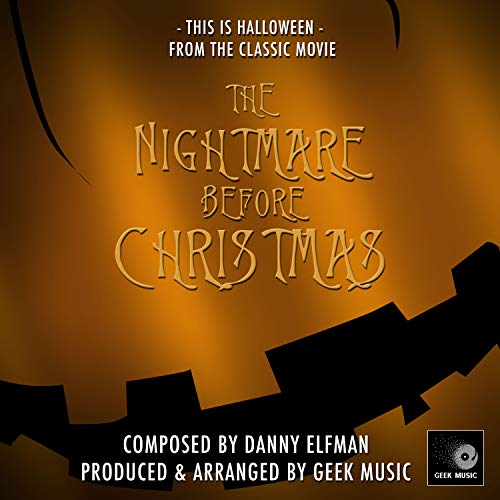 Soundtrack This Is Halloween (The Nightmare Before Christmas - This Is)
