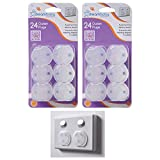 48 Pc Dreambaby Outlet Plugs Home Safety Child Baby Proof Protection Covers Plug