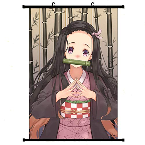 Zzeroe Demon Slayer: Kimetsu no Yaiba Poster& Prints, Anime Scrolls Poster Banners for Collect Home Wall Bedroom Decoration(H03 6040cm) from Zzeroe