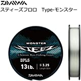 ダイワ(Daiwa) フロロカーボンライン スティーズ Type-モンスター 80m 3.25号 13lb クリアー