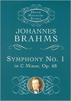 ブラームス: 交響曲 第1番 ハ短調 Op.68/ドーヴァー社/小型スコア