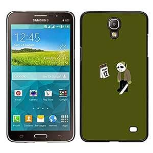 EJOY---Cubierta de la caja de protección la piel dura para el / Samsung Galaxy Mega 2 / --Viernes 12 13 Jason divertido Meme