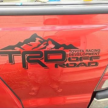 Amazoncom Toyota Tundra Tacoma Truck Body Side Bed Decal X - Custom tundra truck decals