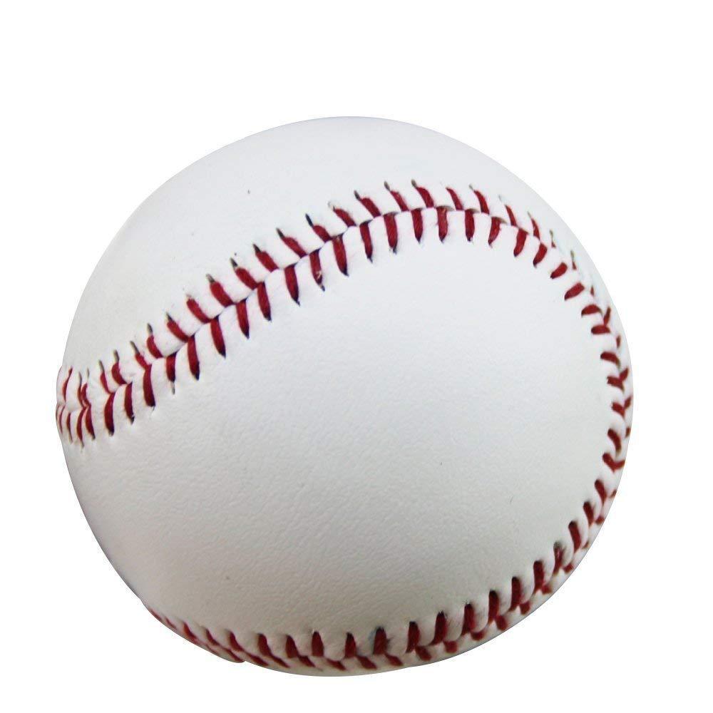 Goodplan 1 St/ücke Standard Unmarkiert Harte Baseball Pu-Leder Doppelnaht Hand N/ähen Baseball f/ür Sport Training Wettbewerb