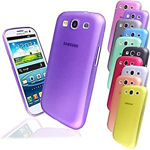 YULIN BIG D 0.3mm PP Matte Back Case for Samsung Galaxy S3 I9300(Assorted Colors) , Yellow