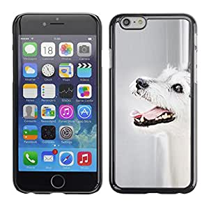 VORTEX ACCESSORY Hard Protective Case Skin Cover - parson Russell terrier dog mutt dog - Apple iPhone 6 Plus 5.5